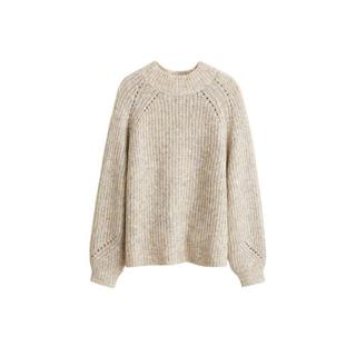gebreide trui beige (dames)
