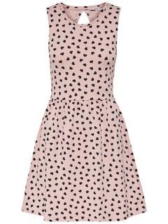 Bedrukte Mouwloze jurk
