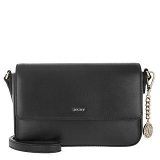 Tasche - Bryant Medium Flap Crossbody Black/Gold in zwart voor dames - Gr. MD