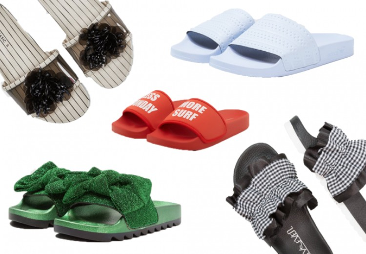 12x coole badslippers in plaats van sandalen
