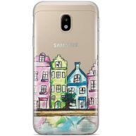 Samsung Galaxy J5 2017 siliconen hoesje - Holografisch zigzag - Copy