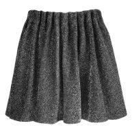 Glitter Skirt - Silver