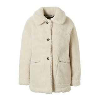 teddy jas licht beige (dames)