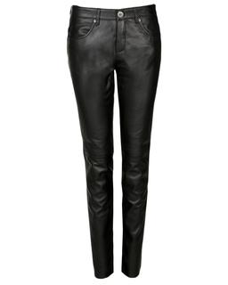 leren broek 5-pocket Mandy long