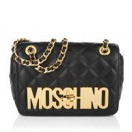 Moschino Schoudertassen - Quilted Shoulder Bag Black in zwart voor dames