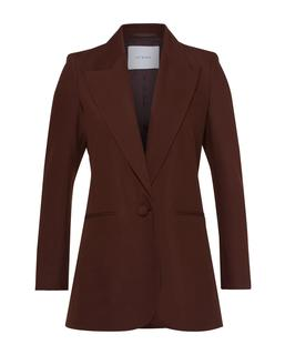 Long Blazer Dark Chocolate
