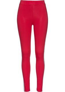 Dames legging in rood