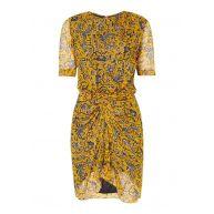 Isabel Marant Étoile Barden jurk van zijde met bloemendessin