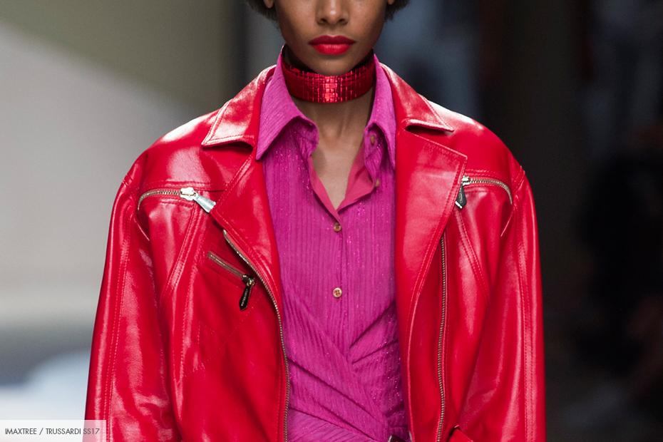 trend roze rood combinatie