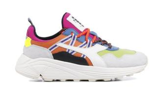 Dames Sneakers in Leder (Wit)