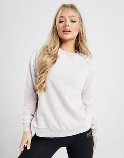 Wash Crew Sweatshirt Dames - alleen bij JD - Roze - Dames, Roze