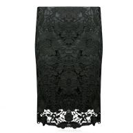 Black Lace Skirt-S