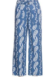 Dames broek in blauw