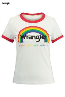 Dames T-shirt Pride Tee Wit
