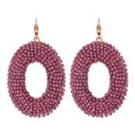 Chique Bead Chandeliers - Light purple/pink