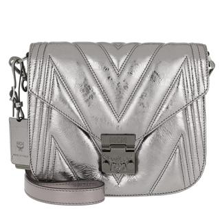 Tasche - Patricia Quilted Shoulder Bag Small Berlin Silver in zilver voor dames - Gr. Small