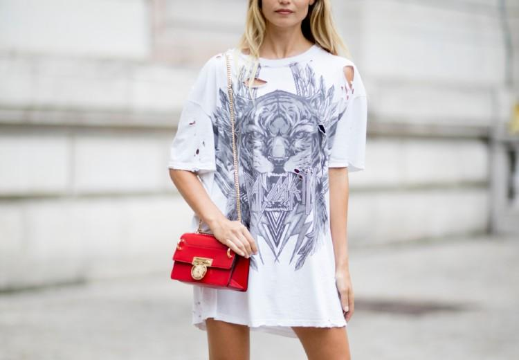 How to style: een oversized T-shirt
