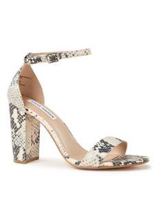 Carrson sandalette met slangendessin