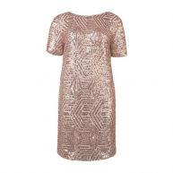 WE Fashion pailletten jurk
