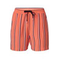 Expresso Fritzi shorts met streepdessin en steekzakken