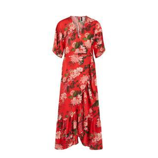 jurk met volantdetails