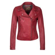 Oakwood Leren jas red