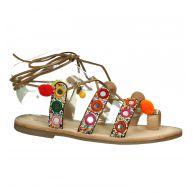 Boho Sandaal Multi Color Les Tropeziennes