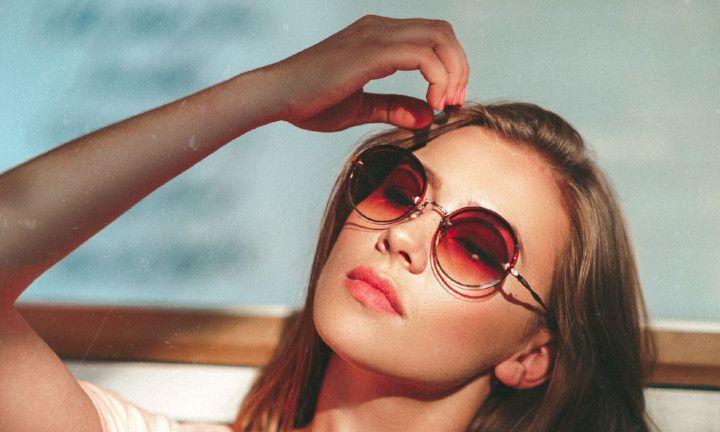 Deze zonnebril past perfect bij jouw gezichtsvorm