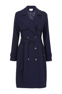 Trenchcoat Soft Blauw