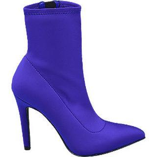 Blauwe sockboot elegant