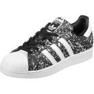 adidas Superstar W schoenen zwart wit