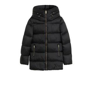 gewatteerde jas zwart Gewatteerde jas (Dames) - Dames