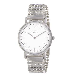 horloge met stalen band