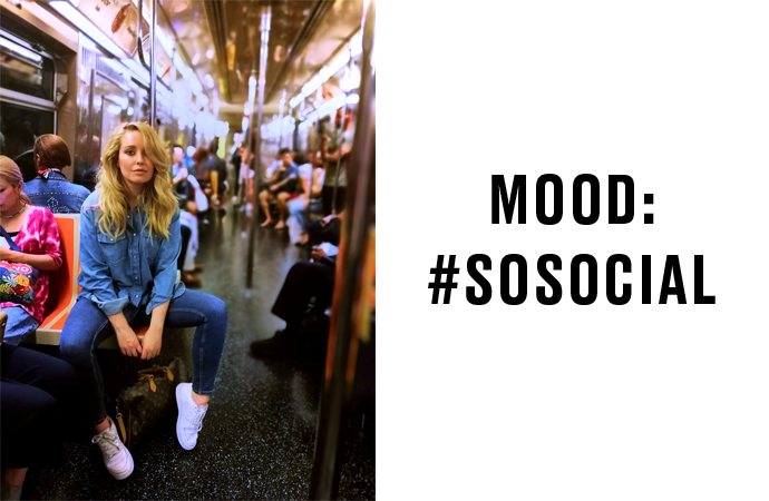 Model Tanja in NYC! episode 6: #sosocial