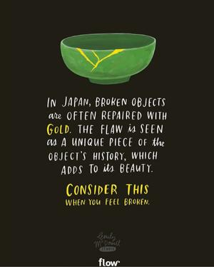 Image of: Love Broken Objects Flow Magazine Inspirational Quotes Flow Magazine