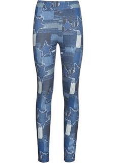 Dames legging in blauw