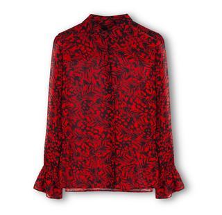 Two tone chiffon blouse M