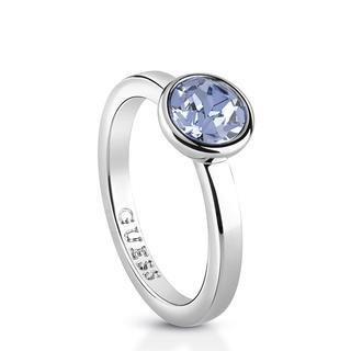 rhodiumplated ring Swarovski kristal Miami