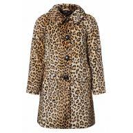 60s Betty Fur Coat in Leopard