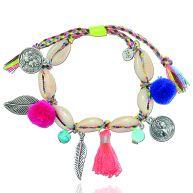 Ibiza Shell Bracelet - Braided