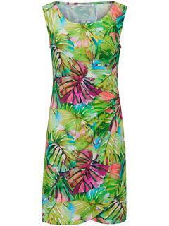 Mouwloze jurk multicolour