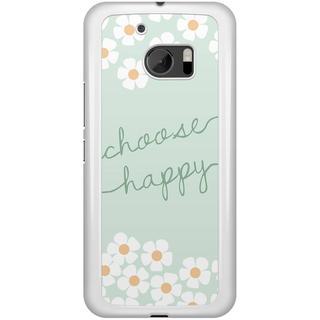 HTC 10 hoesje - Choose happy