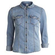 Object blouse 23020114-angila in het stonewash