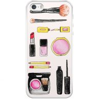 iPhone 5/5S/SE hoesje - Wake up and make up