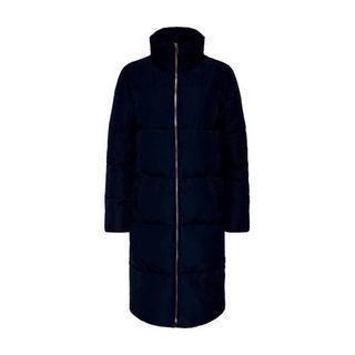 winterjas blauw Gewatteerde jas (Dames) - Dames