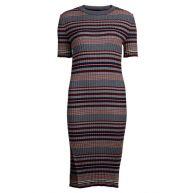 VILA Vilennox Knit Dress Rosewood