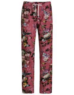 Dine Fleur Lange broek Rood