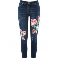 Dames 7/8-jeans in blauw - bpc selection