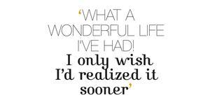 Quote Wonderful life