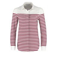 Lacoste Overhemd blanc/beaujolais